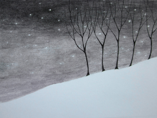 Jennifer Daltry - Winter Trees